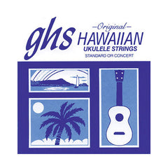GHS Hawaiin Ukelele Black Nylon Strings