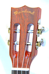 Classic Mahogany Tenor with Slotted Headstock