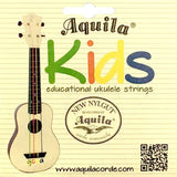 Aquila Colourful Kids Ukulele Strings