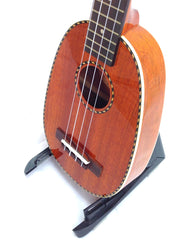 Classic Mahogany Long-Neck Concert Pineapple