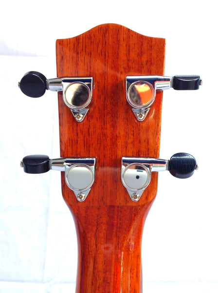 Classic Mahogany Long Neck Concert Pineapple