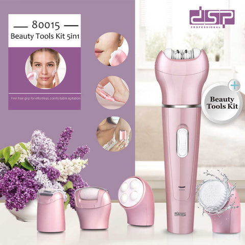 DSP 5 in 1 rechargeable ladies care kit