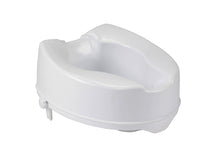 "Load image into Gallery viewer, Raised Toilet Seat with Lock, Standard Seat, 4"" & 6"""