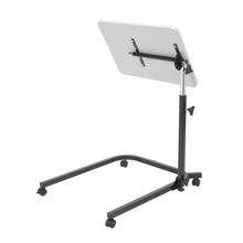 Load image into Gallery viewer, Pivot and Tilt Adjustable Overbed Table