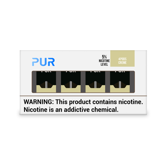 PUR Pods Creme Flavor (4 Pack)