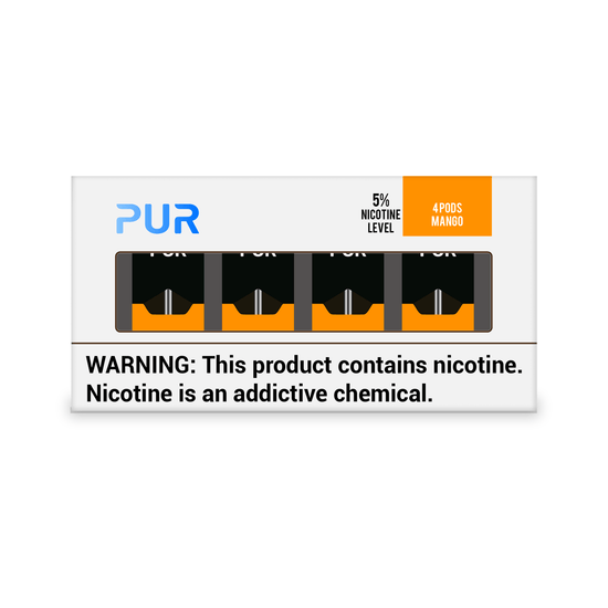 PUR Pods Mango Flavor (4 Pack)