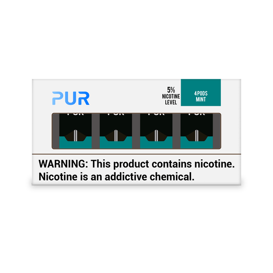 PUR Pods Mint Flavor (4 Pack)
