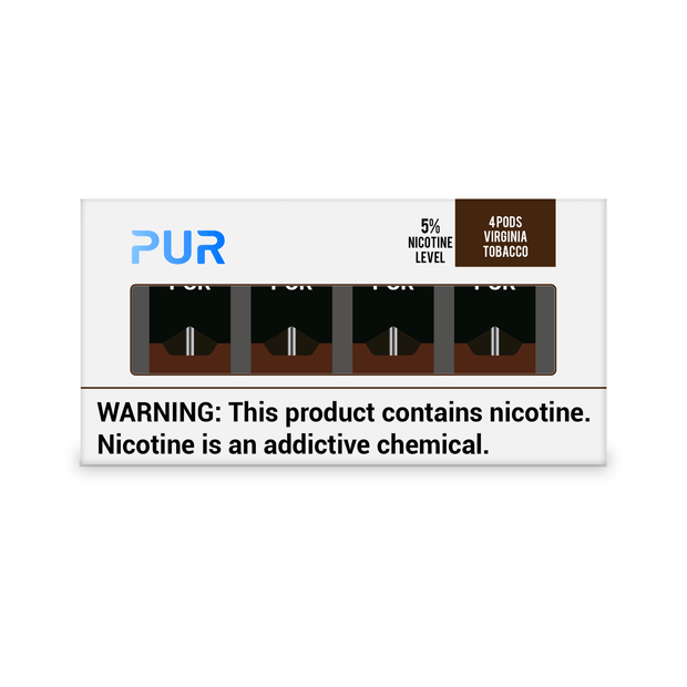 PUR Pods Virginia Tobacco Flavor (4 Pack)