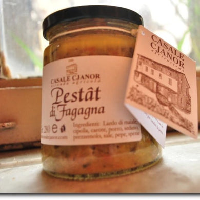 PESTAT CLASSICO - Presidio Slow Food in vasetto