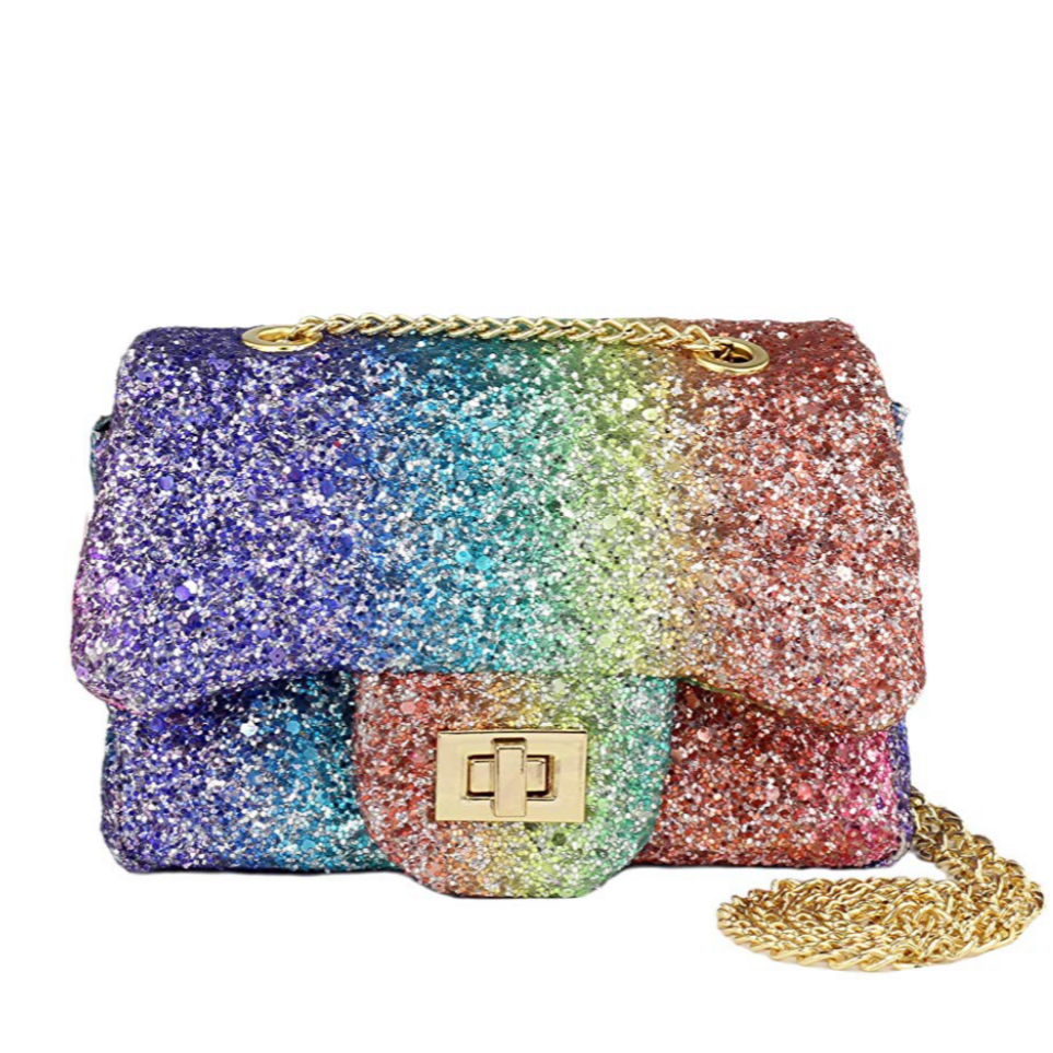 **NEW ARRIVAL** Rainbow turn-lock mini Purse (For Toddlers)