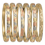 Tri•color Bangles (Newborns - Adults)