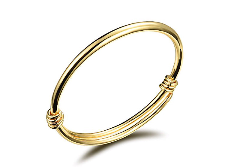 **NEW ARRIVAL** Gold Baby Bells Bangle