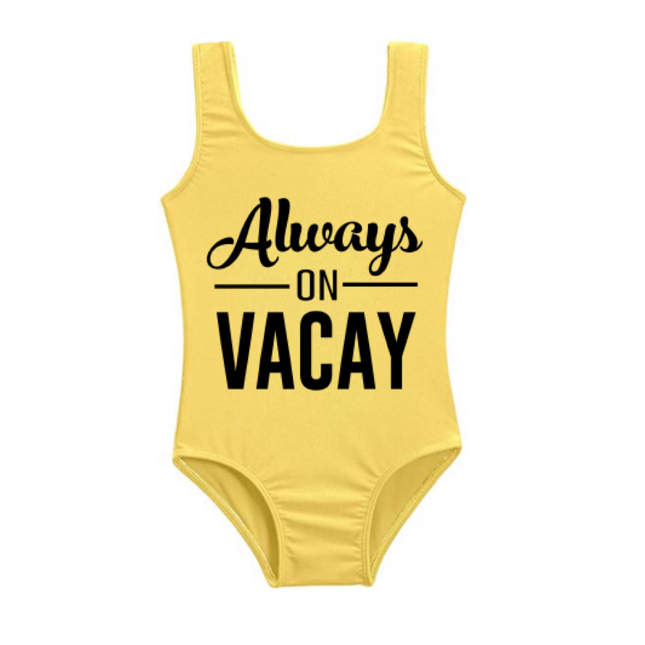 **ISSA SUMMER MUST HAVE**  Custom Swim Always - on - Vacay (Infants - Girls)