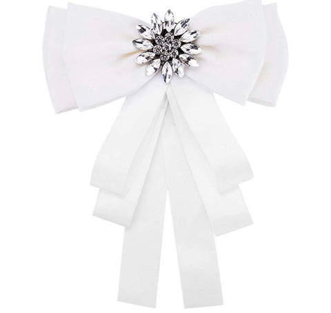 **ISSA MUST HAVE** More Couture Bow Tie Brooch (For Girls - Adults)