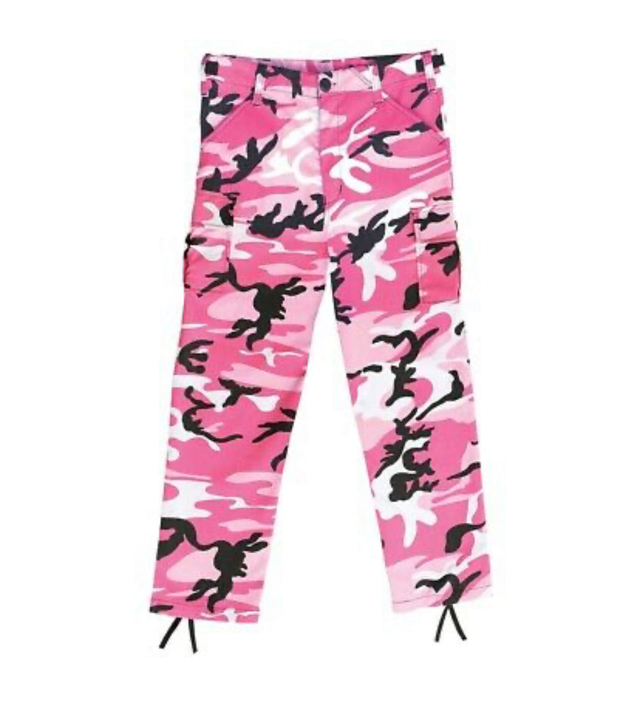 **ISSA MUST HAVE** Army Of One Oversized Camo Pant (for mini - Adults)