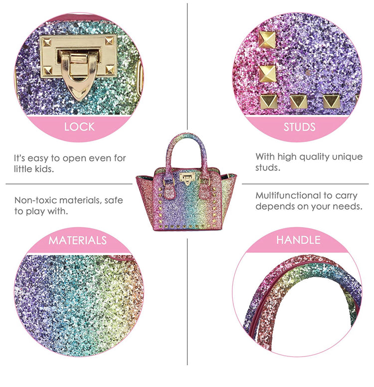 **ISSA MUST HAVE** Unicorn VIBES mini snob Tote (For Toddlers)