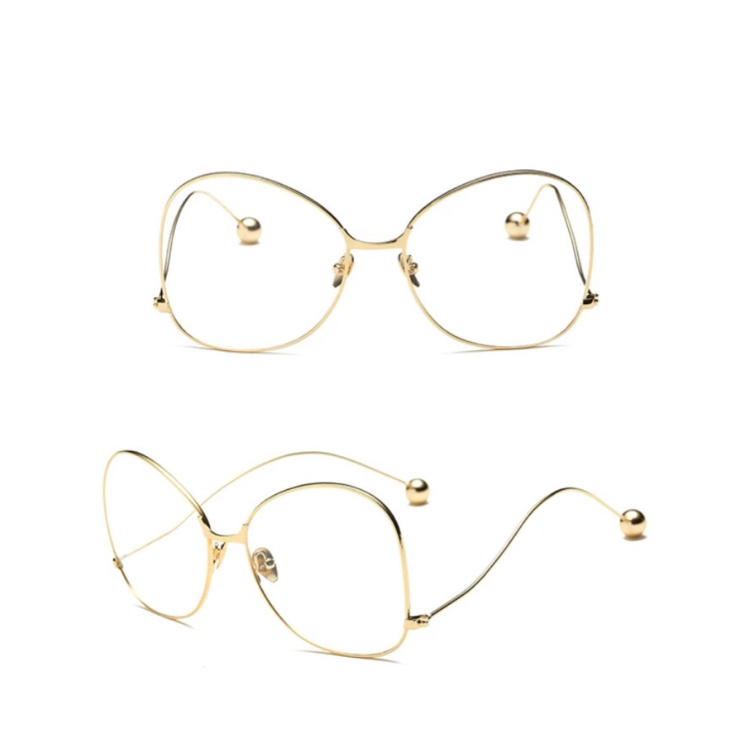 **ISSA MUST HAVE** nova Gold Frames (For Mommy & mini)