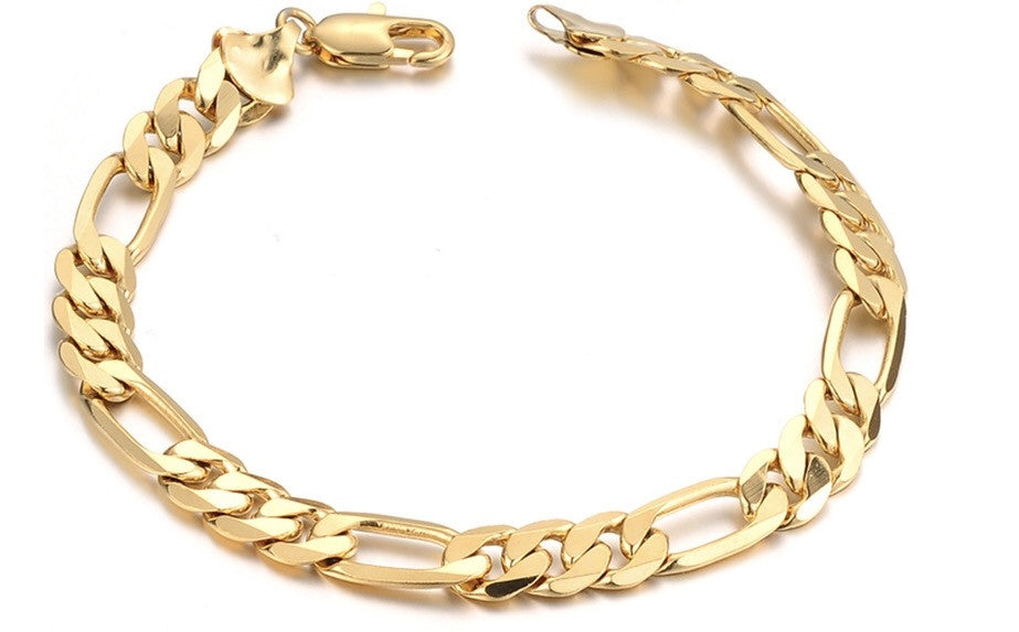 Chunky Figaro Link Anklet