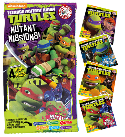 Teenage Mutant Ninja Turtles MiNi Mags Series 1