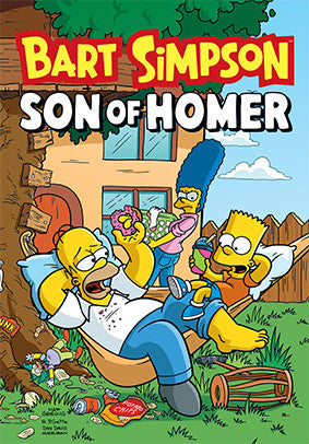 Bart Simpson Son of Homer