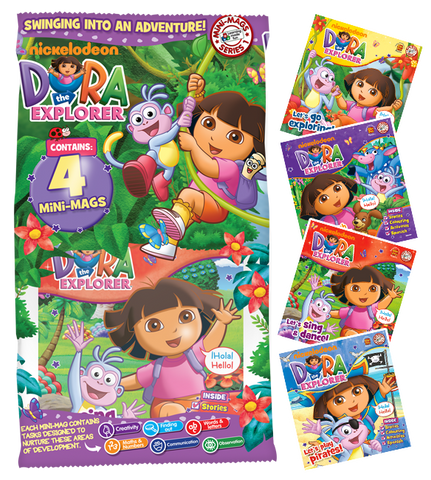 Dora The Explorer MiNi-Mags Series 1