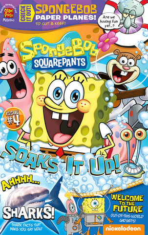 SpongeBob SquarePants Magazine Issue #4
