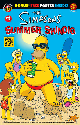 The Simpsons Summer Shindig Issue #3