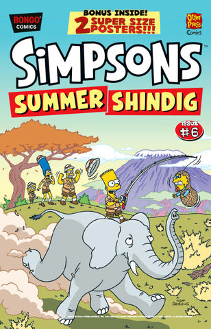 The Simpsons Summer Shindig issue #6
