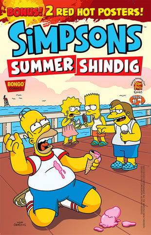 The Simpsons Summer Shindig issue #7