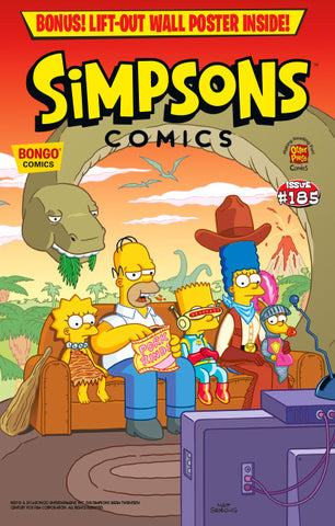 Simpsons Comics Issue #185