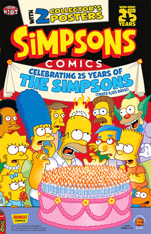 Simpsons Comics Issue #187