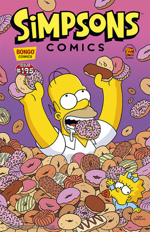 Simpsons Comics Issue #195