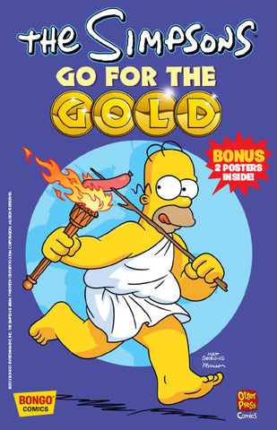 The Simpsons Go For Gold