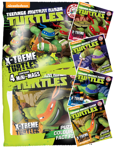 Teenage Mutant Ninja Turtles MiNi Mags Series 3