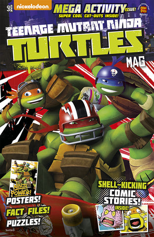 Teenage Mutant Ninja Turtles Magazine Issue #11