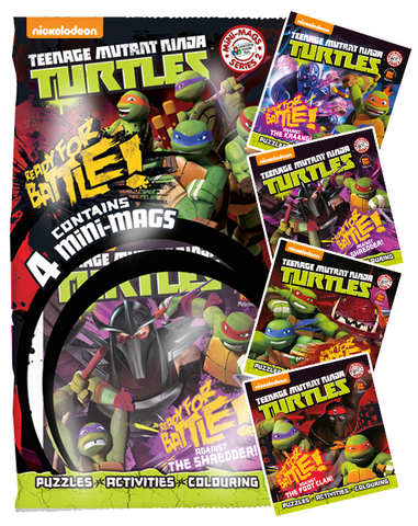 Teenage Mutant Ninja Turtles MiNi Mags Series 2