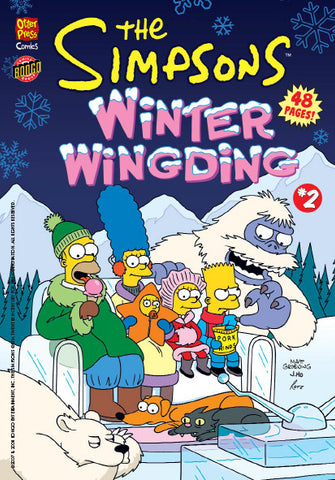 The Simpsons Winter Wingding Issue #2