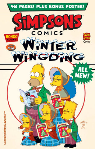 The Simpsons Winter Wingding Issue #6
