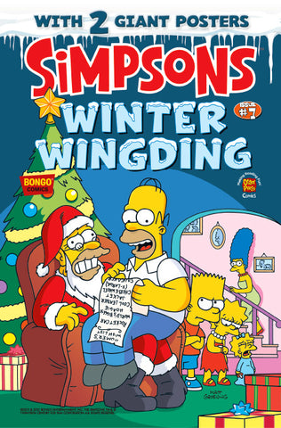 The Simpsons Winter Wingding Issue #7