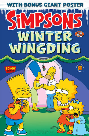 The Simpsons Winter Wingding Issue #8