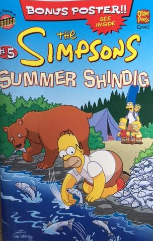 The Simpsons Summer Shindig Issue #5