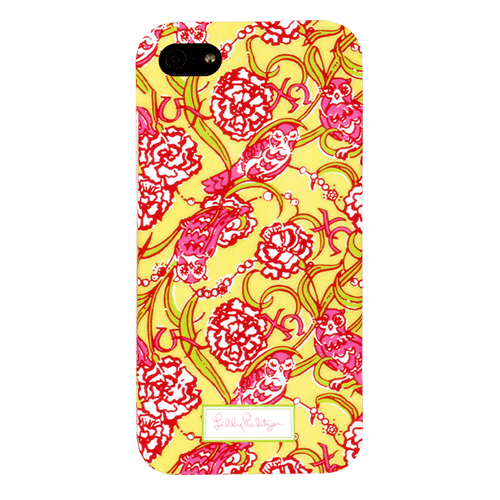 1e3a923bb2a204 Lilly Pulitzer iPhone 5 Cover Chi Omega – Greek Image