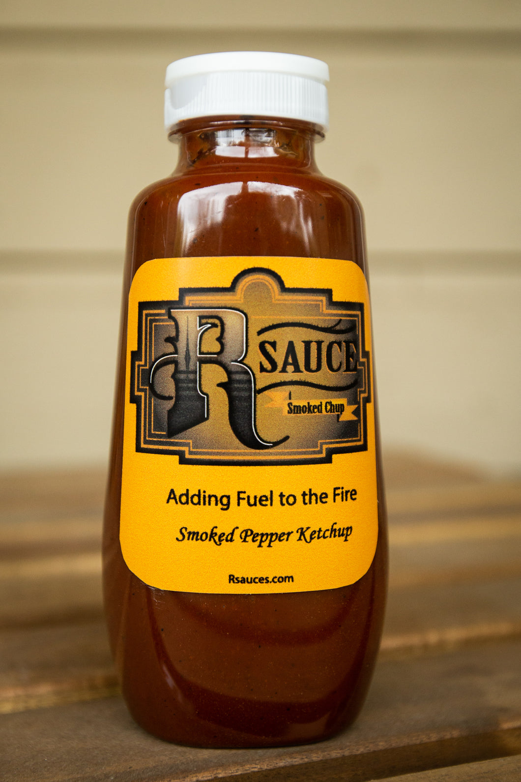 Smoked Pepper Spicy Ketchup - 12 Oz Bottle