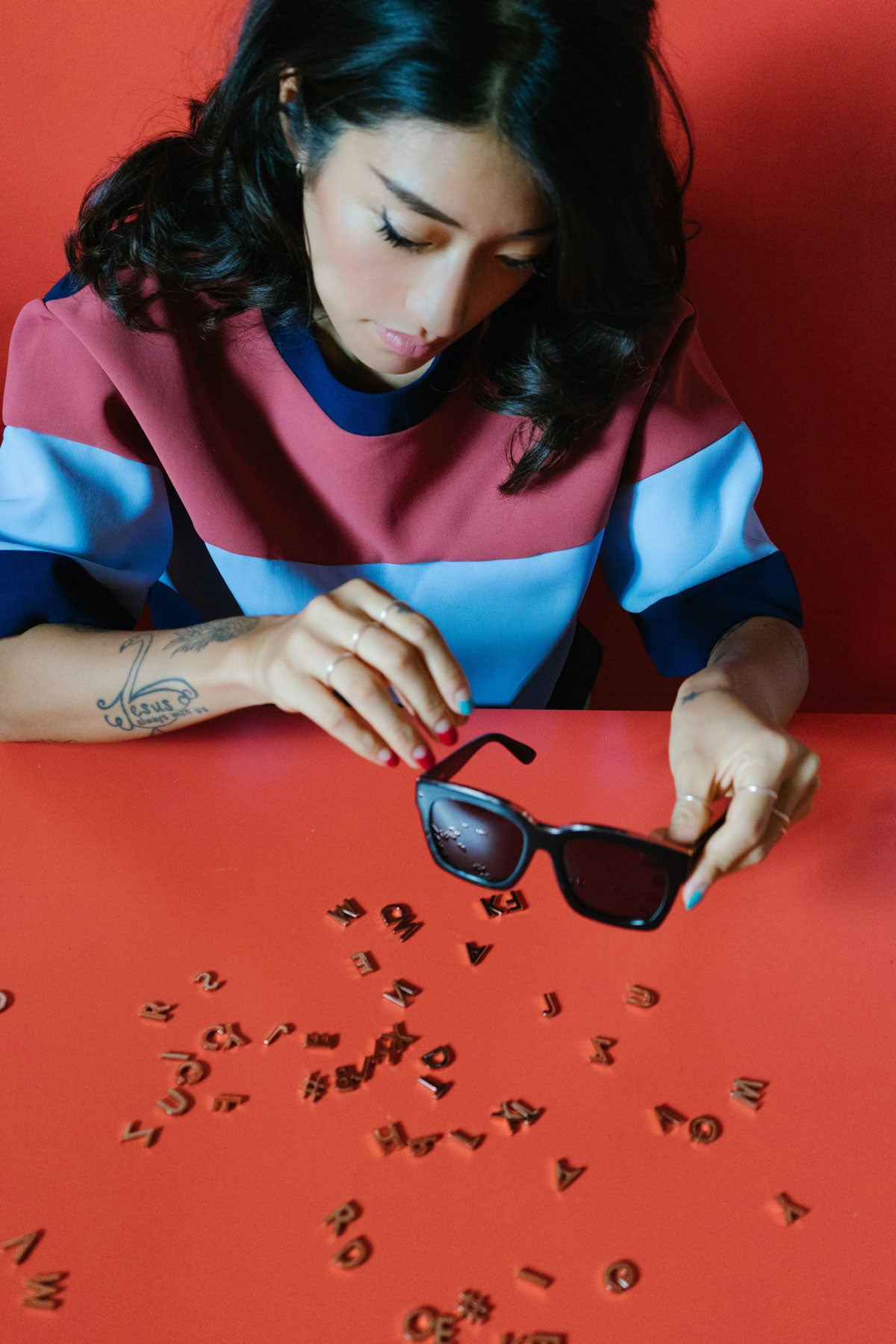 Peggy Gou with REVÉ Alphabet Collection in A Berlin Story