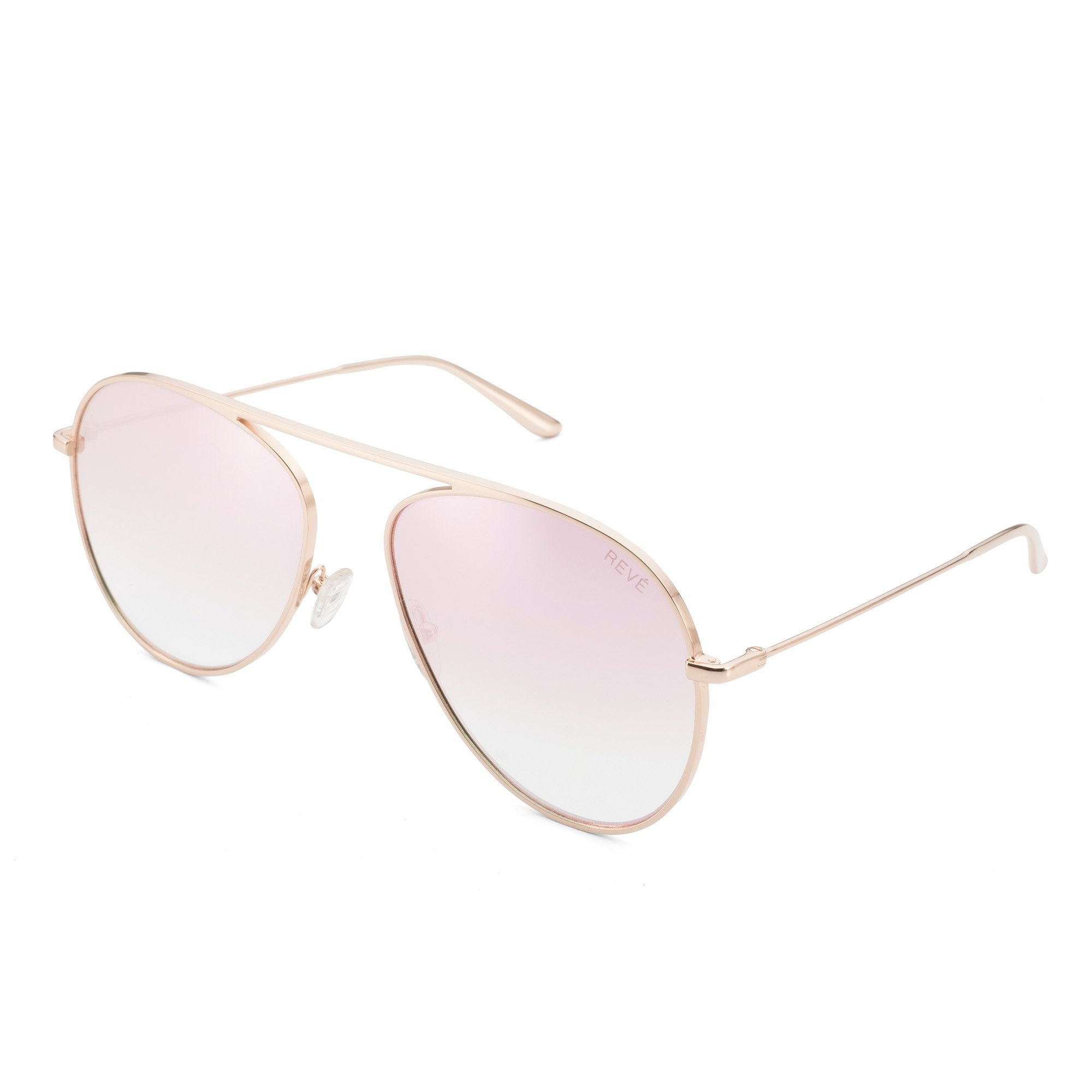 REVE by RENE glimpse aviator sunglasses