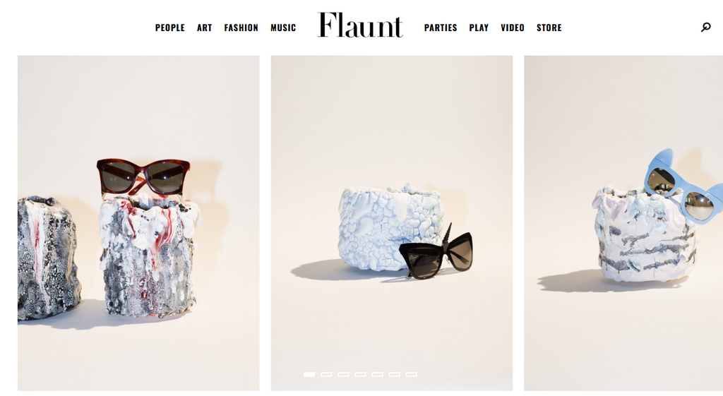 REVÉ and Brian Rochefort collaboration featured in Flaunt magazine