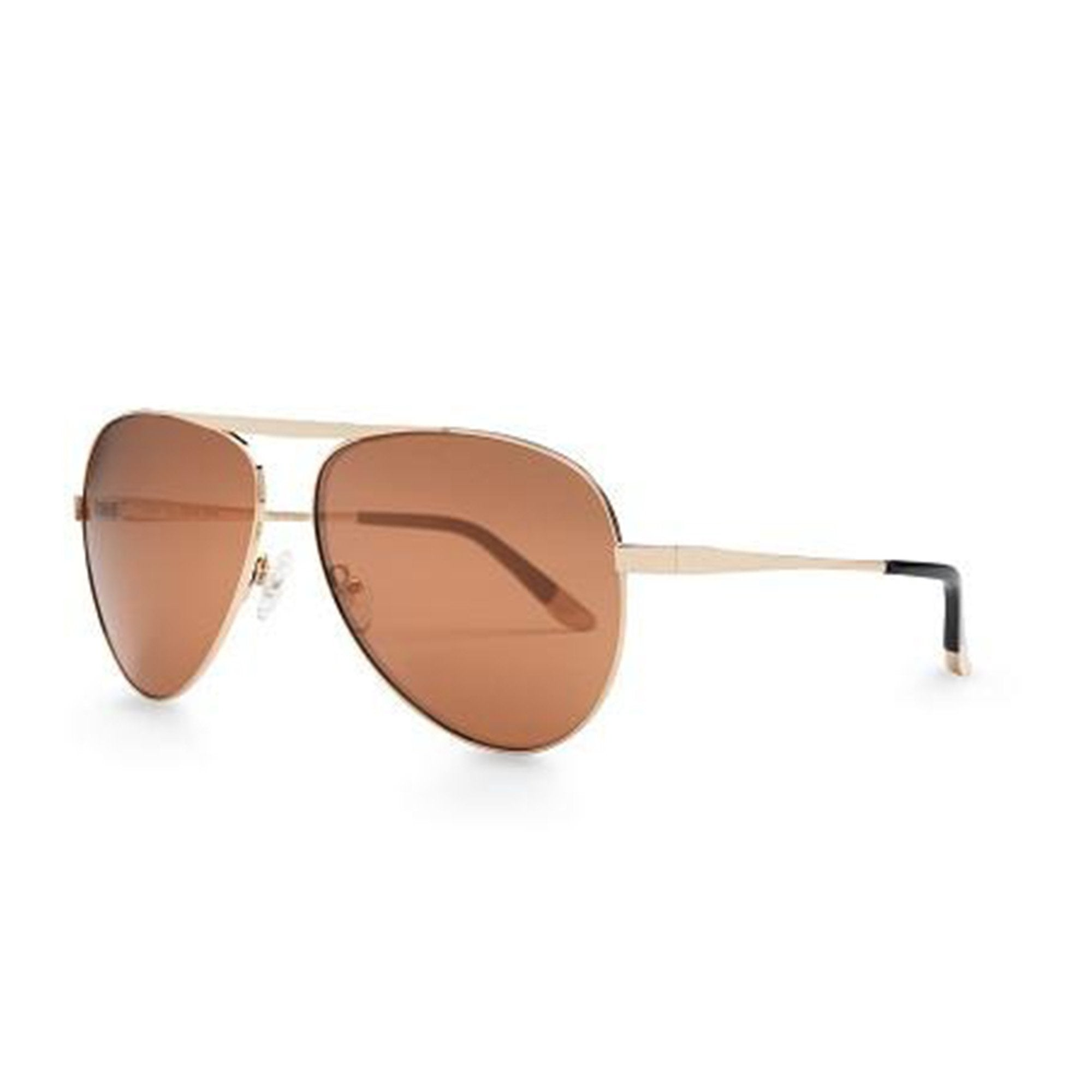 REVE by RENE wish you were here aviator sunglasses champagne tan