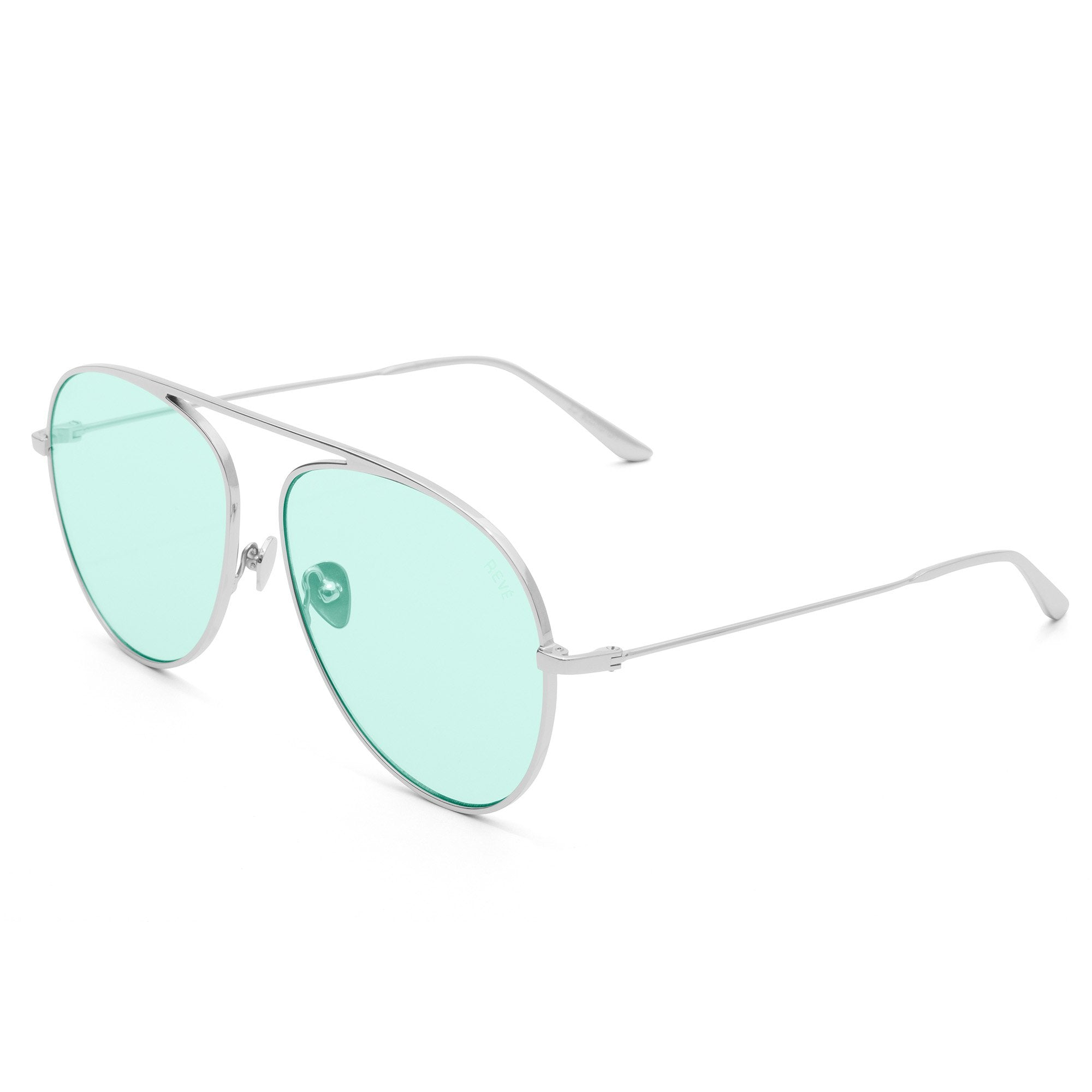 REVE by RENE jellybean sunglasses | green sunglasses