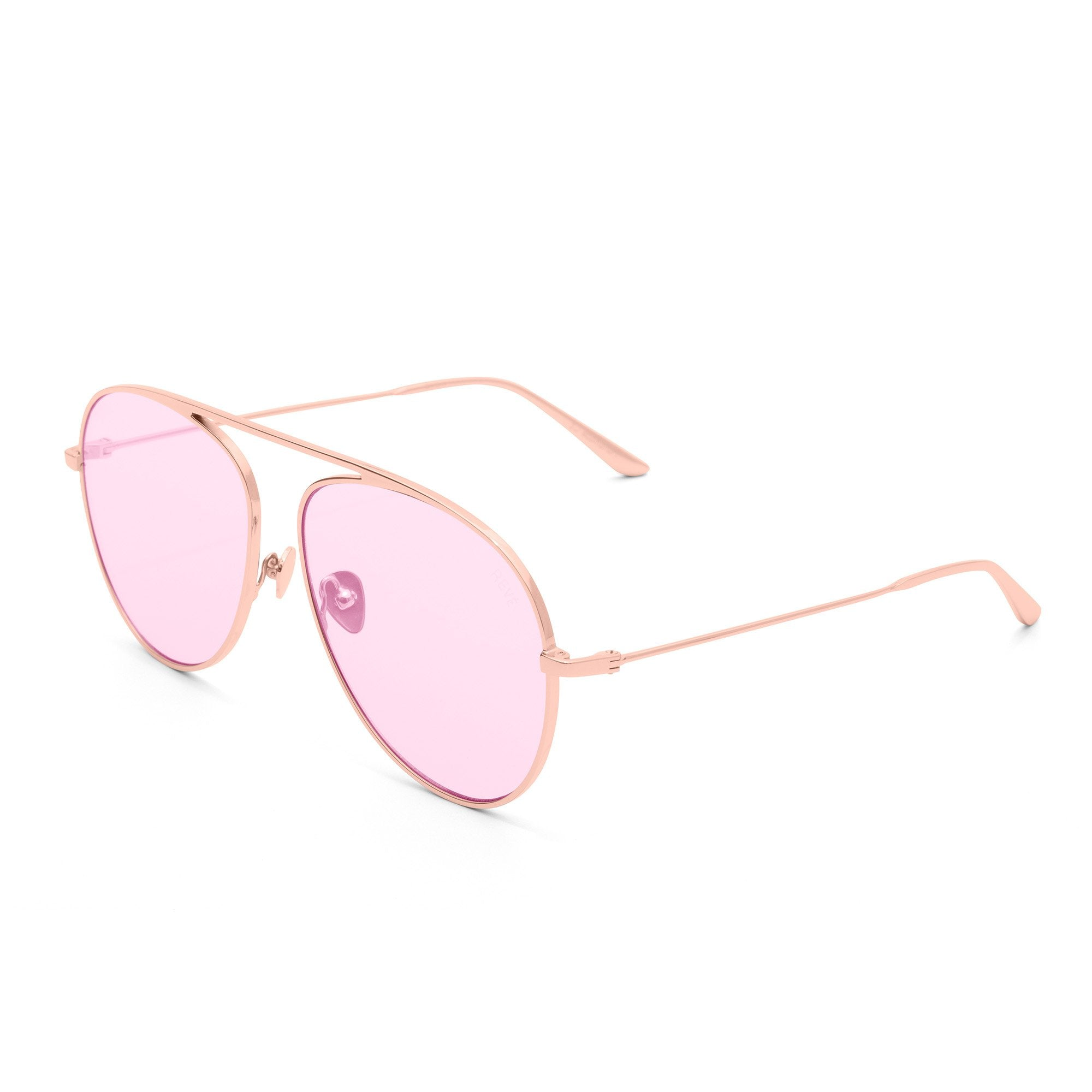 REVE by RENE jellybean sunglasses pink