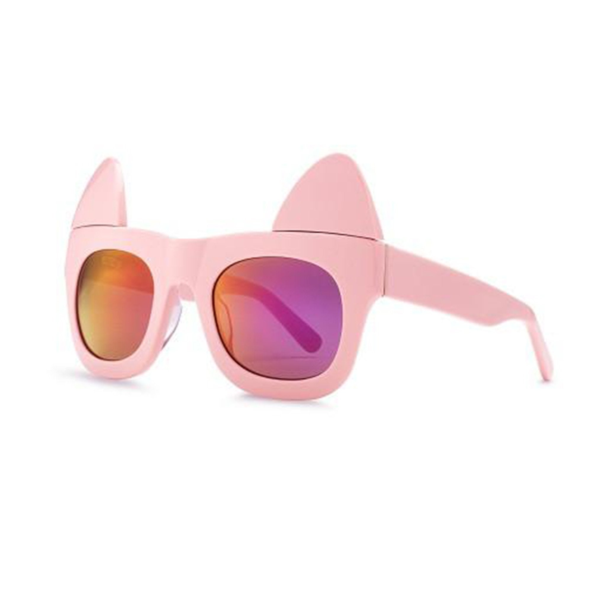 REVE by RENE Make me meow bon bon pink sunglasses